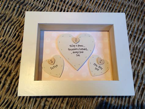 Wedding Box Frame Gifts by Shabby Personalised Chic Of The Groom Wedding Gift