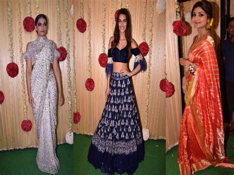 get stylish like the bollywood divas with hairbands bollywood divas at ekta kapoor s diwali bash boldsky