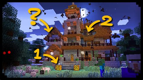 from my house to yours minecraft 10 ways to spookify your house youtube