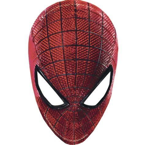 2nd Birthday Decorations At Home amazing spider man face masks 1pk
