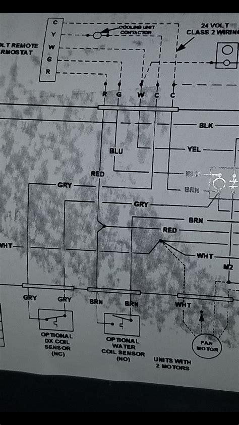 company air handler wiring diagram wiring diagram