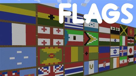 flags of the world minecraft minecraft country flag pixel art all countries youtube