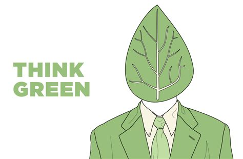 Think Green think green kristian bjornard dot