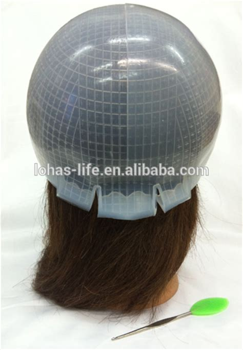 lowlighting cap hair beauty salon silica gel highlighting cap buy hair