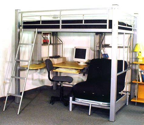 queen size loft bed with desk full size studio loft bed 4037 ml queen size
