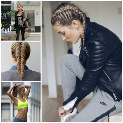 Hairstyles For Working Out by Braided Hairstyles Haircuts Hairstyles 2017 And Hair
