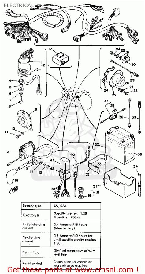 1978 yamaha dt 175 wiring diagram 33 wiring diagram