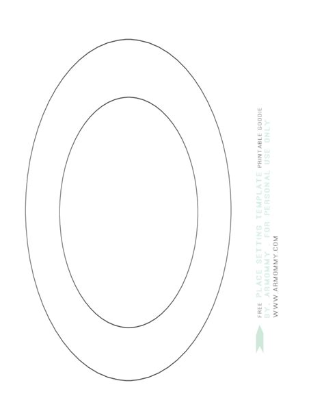 set template place setting template sle free