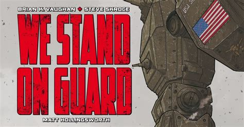 libro we stand on guard el lector de historietas we stand on guard de brian k vaughan steve skroce y matt