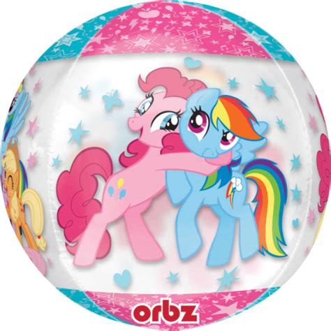 Balon Foil Pony my pony orbz foil balloons free delivery