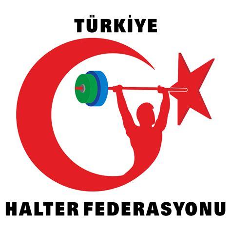 tuerkiye halter federasyonu logosu  vector