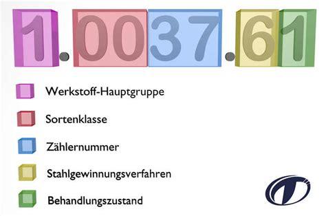 werkstoffnummern stahl tabelle werkstoffnummern die wichtigsten auf einen blick