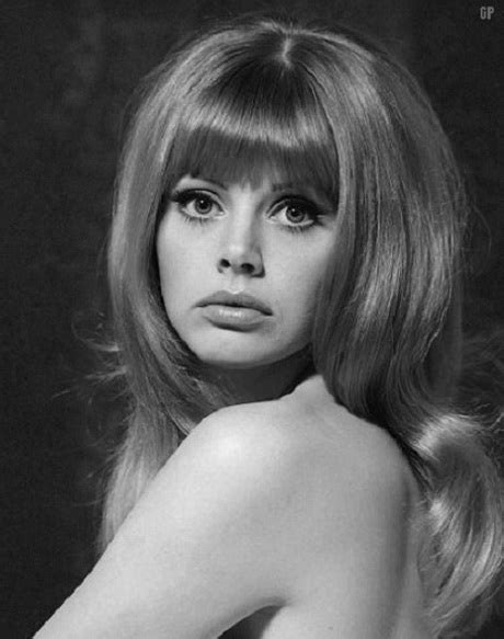 pictures of britt ekland with shag haircut 70s hairstyles for long hair