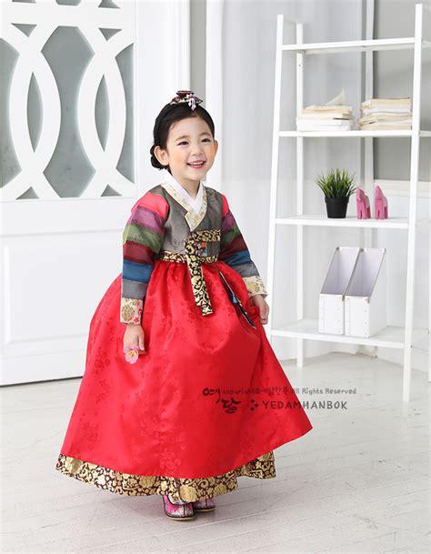 Dress Anak Korean Rainbow hanbok korean traditional dress korea baby 1st birthday rainbow ebay