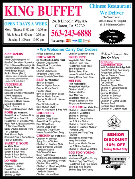 Yellowbook The Local Yellow Pages Directory King Buffet Coupons