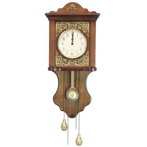 pendulum wall clock uniquewise pendulum wall clock wayfair