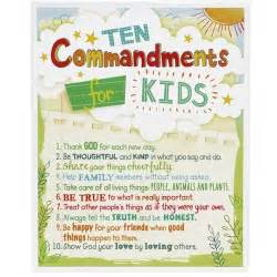 Personalized Wall Decor For Home ten commandments for kids plaque the catholic company