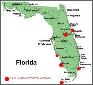 tomtom florida map mei 2006 rondreis amerika