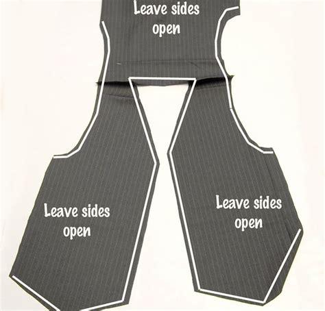 vest template boys vest patterns free boy sewing tutorials