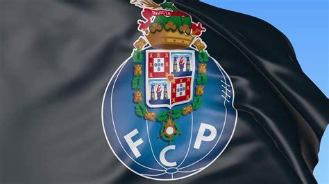 porto football club up of waving flag with fc porto football club logo