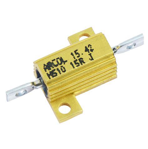 arcol resistors uk arcol 10w 25w 50w aluminium clad wirewound resistor hs10 hs25 hs50 ebay