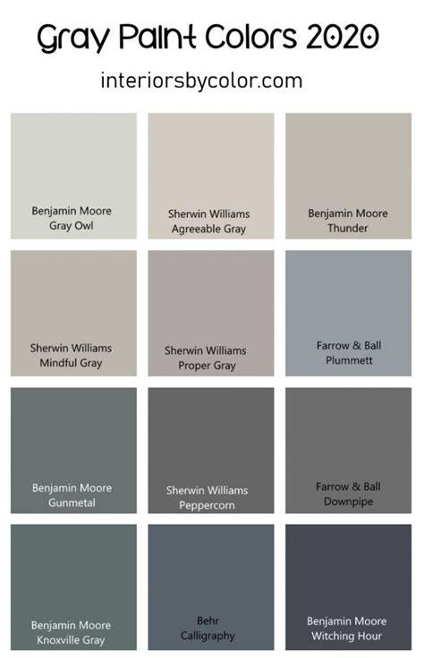 gray paint colors   interiors  color
