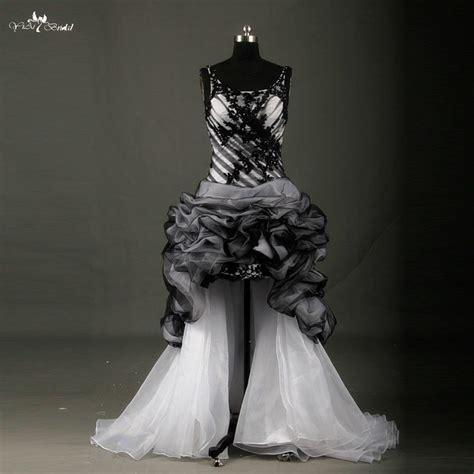 Black And White Wedding Dresses by Buy Wholesale White And Black Wedding Dress From