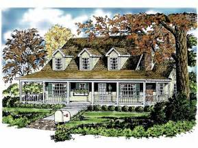 One Story House Plans With Wrap Around Porches by June 2014 Own Building Plans