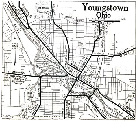Mahoning County Records Mahoning County Ohio Maps And Gazetteers
