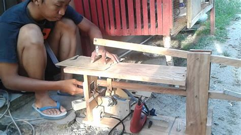 Mesin Gergaji Kayu Triplek Gergaji Triplek Tenaga Mesin Bor Scroll Saw Drill Powered