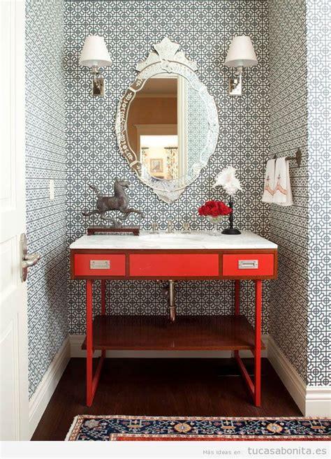 decorar baños con azulejos jard 237 n creativo peque 241 o