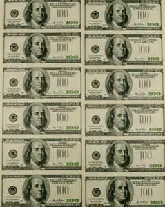 100 dollar bill template best photos of printable money bills money 100
