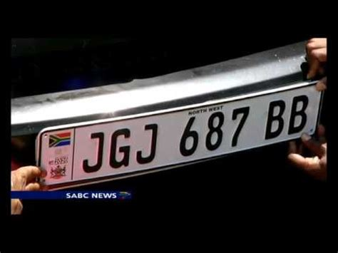 Number Search South Africa New Numberplates For South Africa Are Due In 2017 Renewed Every 5 Years