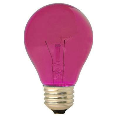 Pink Light Bulb by Easter Lights