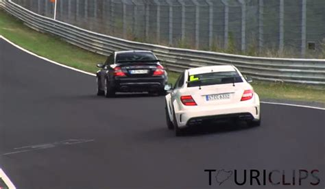 brothers in arms mercedes clk63 amg black vs c63 amg