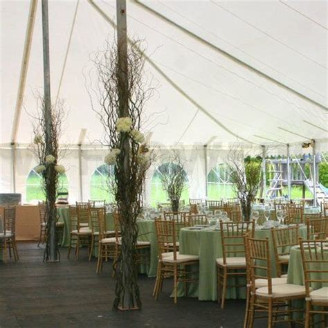How To Decorate A Tent For A Wedding Reception by Wedding Tent Pole Decorations Wedding Tent Decoration At