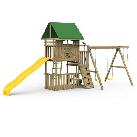 menards swing set accessories playstar great escape starter factory built playset at