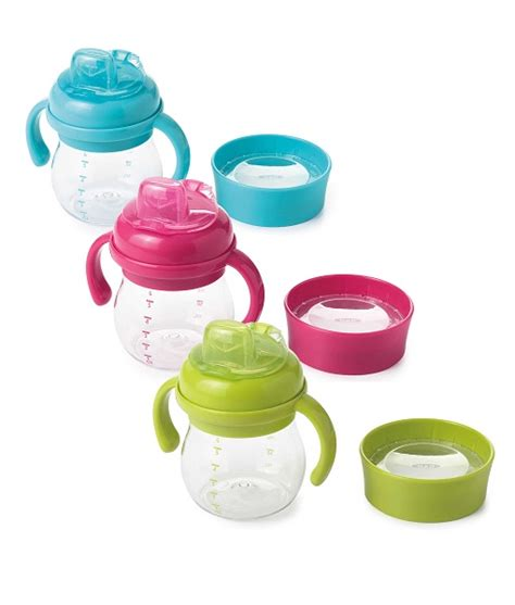 Oxo Tot Grow Soft Spout Sippy Cup Green 6oz oxo tot 174 sippy cup 7oz theshopville baby store