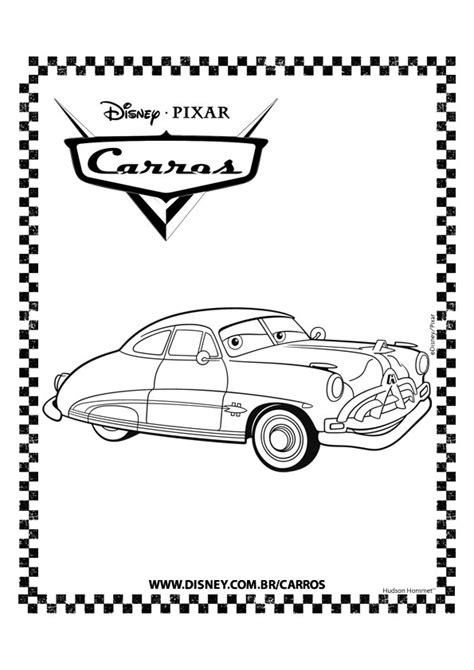 cars wingo coloring pages dottor hudson con cornice da colorare cars motori ruggenti