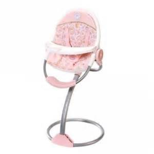 Baby Born Doll High Chair zapf creation baby annabell high chair doll product reviews and price comparison