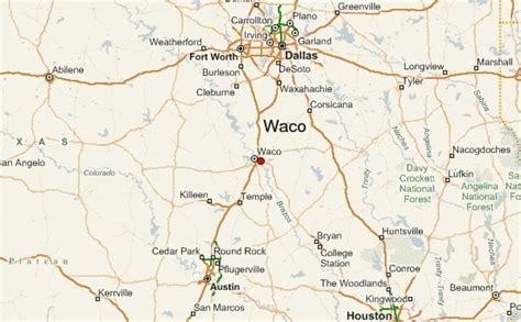 where is waco texas on the map map of waco texas and surrounding area my