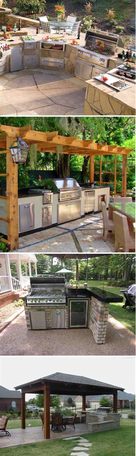 backyard kitchen design ideas 17 best ideas about outdoor patio bar on