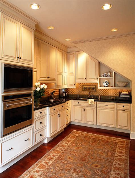 historic charleston single house traditional kitchen
