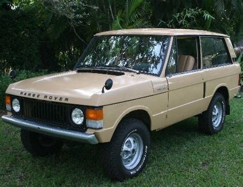 land rover discovery classic 1972 range rover classic land suffix a 2 door suv front