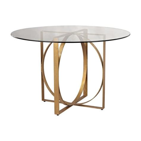 Glass Entry Table Ls Dimond Home Box Rings Entry Table In Gold