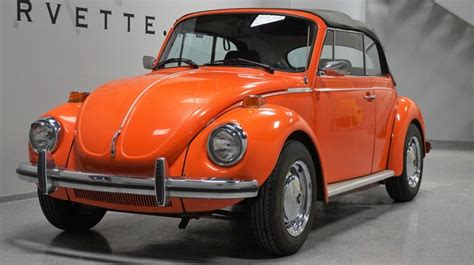 volkswagen super beetle convertible lubbocktexas orange  volkswagen super beetle