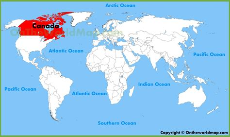 Search For In Canada Info Canada World Map Travel