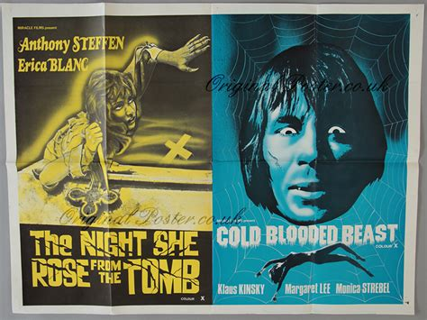 cold comes the night movie poster the night she rose from the tomb cold blooded beast