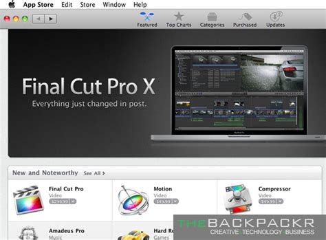 final cut pro app apple releases final cut pro x thebackpackr com
