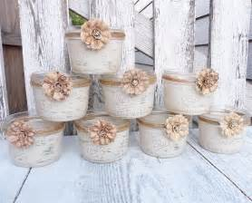 12 shabby chic country upcycled candle votive by